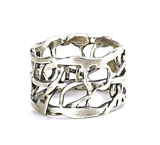 Tangle Circlet Ring by Janet Blake (Silver Ring)