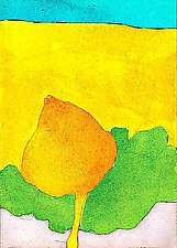 Bud In Yellow by Joan Gold (Giclee Print)