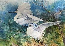 Taking Flight by Terrece Beesley (Watercolor Painting)