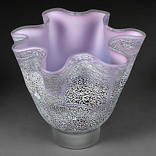 Lunar Lilac by Eric Bladholm (Art Glass Vessel)