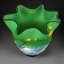 Luminous Light by Eric Bladholm (Art Glass Vessel)