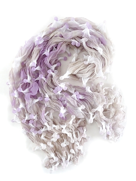 Large Epidermis Scarf in Lavender