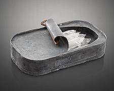 Sardine Can by Jeremy Sinkus (Art Glass & Metal Sculpture)
