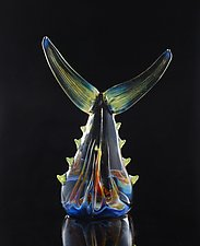 Fish Tails by Jeremy Sinkus (Art Glass Sculpture)