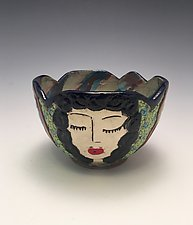Party Girls by Lilia Venier (Ceramic Bowl)