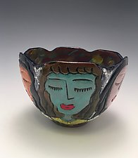 Club Friends by Lilia Venier (Ceramic Bowl)