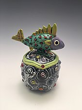 Lonely Boy by Lilia Venier (Ceramic Jar)
