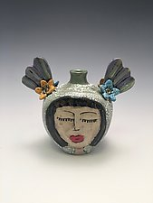 Hermanas by Lilia Venier (Ceramic Vase)