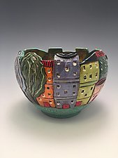 Sorrento 1 by Lilia Venier (Ceramic Bowl)