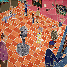 Art Museum Gallery II by Jonathan I. Mandell (Giclee Print)