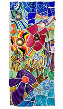 Floral Landscape 2011 by Jonathan I. Mandell (Giclee Print)