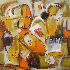 Abstract Expressionism Three by Lynne Taetzsch (Acrylic Painting)