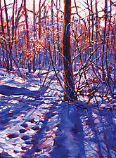 Ice Light by Caroline Jasper (Oil Painting)