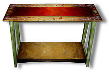 Bombay Sofa 2011 by Wendy Grossman (Wood Console Table)