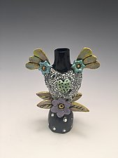 Spring Love II by Lilia Venier (Ceramic Vase)