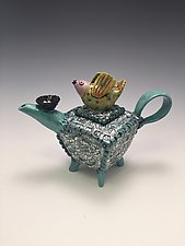Expecting by Lilia Venier (Ceramic Teapot)