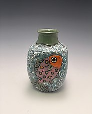 Under the Sea by Lilia Venier (Ceramic Vase)