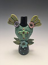 Spring Love I by Lilia Venier (Ceramic Vase)