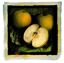 Autumn Asian Pears by Dar Spain (Hand-Colored Photograph)
