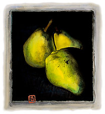 Northern Pears by Dar Spain (Hand-Colored Photograph)