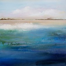Shoreline by Karen  Hale (Acrylic Painting)