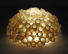 Tubes Wall Light by Lilach Lotan (Ceramic Wall Light)