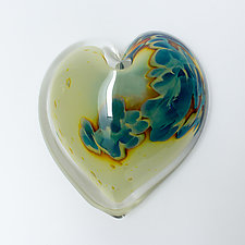Stormy River by April Wagner (Art Glass Paperweight)