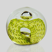 Swirl by Mariel Waddell and Alexi Hunter (Art Glass Paperweight)