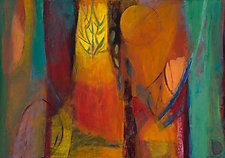 Whispered Longings by Heidi Daub (Acrylic Painting)