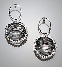Filagree Earrings by Ashley Vick (Silver Earrings)