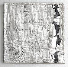 Dancing Lessons by Joan Schulze (Fiber Wall Art)