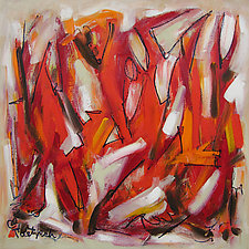 Fire and Light by Lynne Taetzsch (Acrylic Painting)