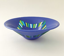 Rebound by Sabine  Snykers (Art Glass Bowl)