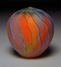 Rainbow Facet by Nicholas Bernard (Ceramic Vessel)
