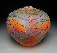 Landscape Vessel by Nicholas Bernard (Ceramic Vessel)