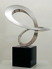 World Within (Large) by James T. Russell (Steel Sculpture)