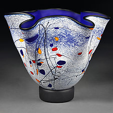 Indigo Interlude by Eric Bladholm (Art Glass Vessel)