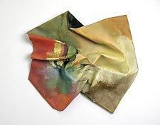 Gold Accents by Karen  Hale (Painted Wall Sculpture)