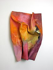 Hot, Hot, Hot by Karen  Hale (Painted Wall Sculpture)
