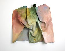 Warm Embrace by Karen  Hale (Painted Wall Sculpture)