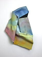 Airy by Karen  Hale (Painted Wall Sculpture)