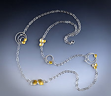 Festival Necklace by Judith Neugebauer (Gold & Silver Necklace)
