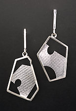 Obladee Earrings by Marcia Meyers (Silver Earrings)