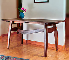 Sonoma Harvest Table by Richard Laufer (Wood Console Table)