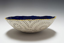 Bold Circle Bio Bowl by Vaughan Nelson (Ceramic Bowl)