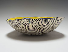 Bold Optix Bio Bowl by Vaughan Nelson (Ceramic Bowl)