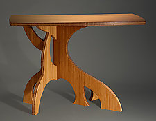 Banyan Hall Table by Seth Rolland (Wood Console Table)