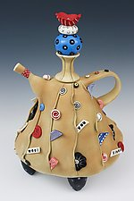 Would You Please by Laura Peery (Ceramic Teapot)