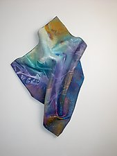 Comes Evening by Karen  Hale (Painted Wall Sculpture)