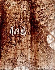 Prelude Botanica by Ouida  Touchon (Woodcut Print)